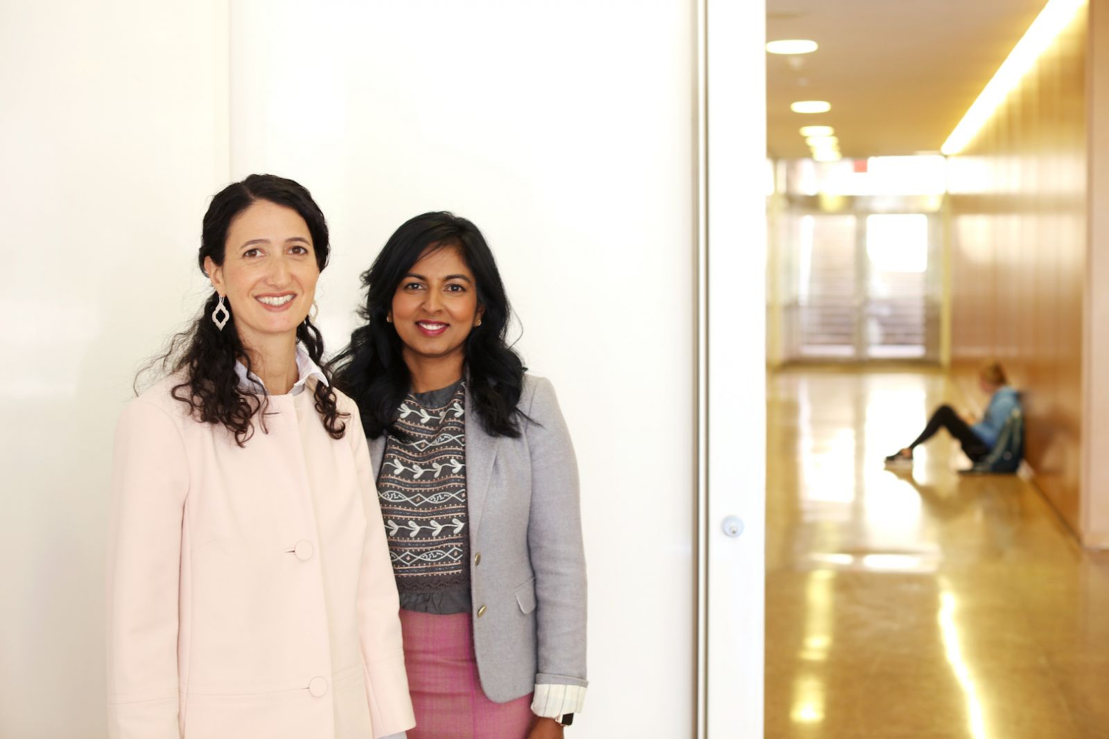 Kelly Hogan and Viji Sathy