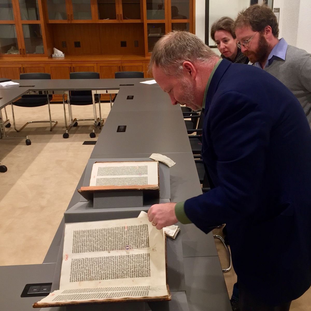 Bruce Gordon and Joel Baden examine the Gutenberg Bible