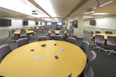 Teal Classroom Image
