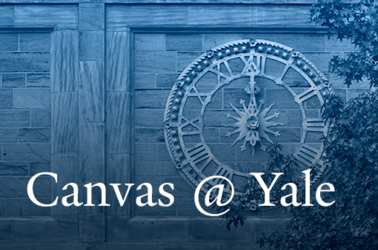 Canvas @ Yale Banner
